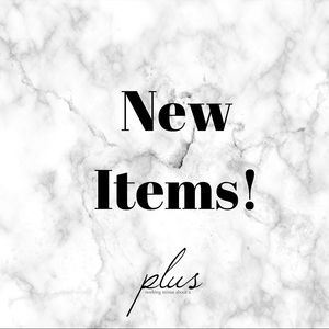 New Plus Size Items!